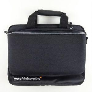 Laptop Computer Messenger Bag Black